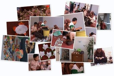 View Album Foto Kegiatan siswa pengoalahan 3R